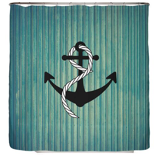 Duschvorhang Anker 180×200 cm