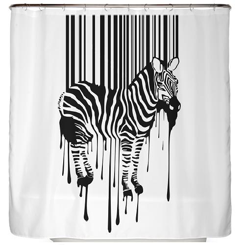 Duschvorhang Zebra 180×200 cm