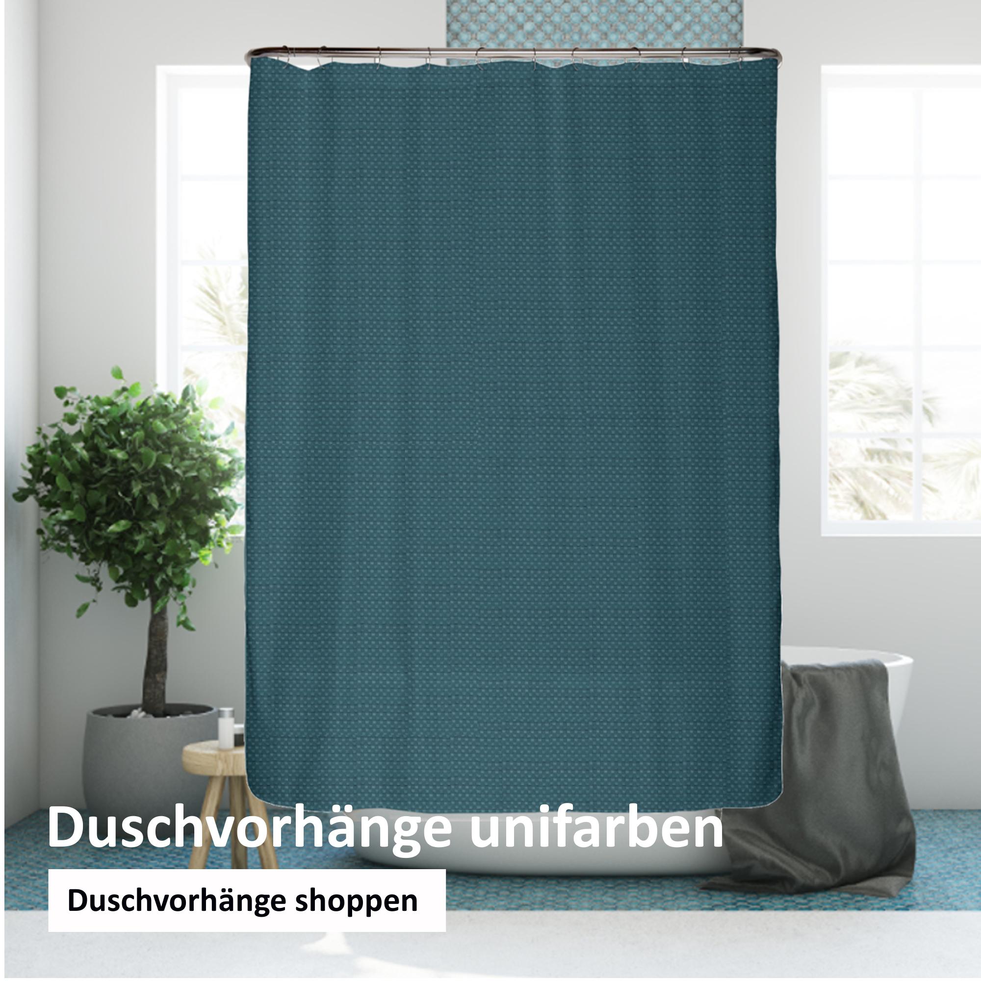 Duschvorhang unifarben online kaufen
