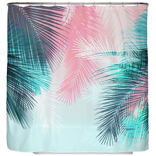 Duschvorhang Palmen Blätter 180×200 cm