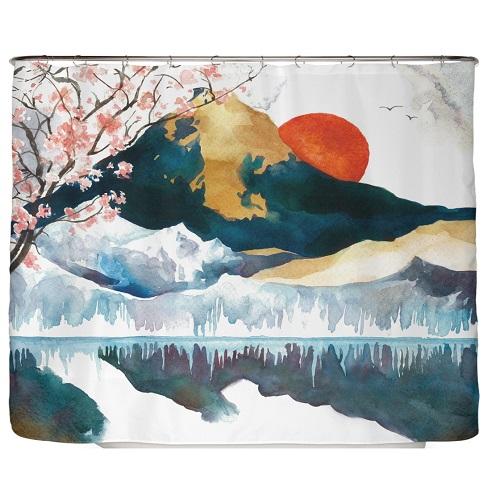 Duschvorhang Japan 240×200 cm